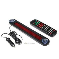 12V 7x50 Remote Programmable LED Message Sign Scrolling Display Board For Car