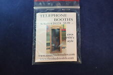 Model Tech Studios D1124 – 1930s Style Telephone Booth- N Scale