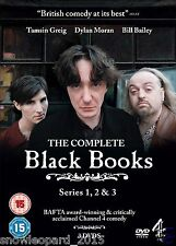 BLACK BOOKS COMPLETE SERIES 1 - 3 DVD BOX SET SEASON 1 2 3 BLACKBOOKS COLLECTION