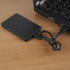 "Black 2.5""Inch USB 3.0 SATA External Hard Drive HDD/SSD Enclosure/Caddy Disk Box"