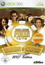 XBOX 360 World Series of Poker 2 Tournament of Champions NUOVISSIMA