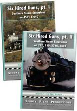 Six Hired Guns 2 DVD Package Set NEW Sunday River Southern Steam 4501 610 2839