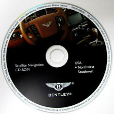 04 05 06 BENTLEY CONTINENTAL GT NAVIGATION NAV MAP DISC CD NORTHWEST SOUTHWEST