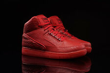 2015 Nike Air Python PRM SZ 8.5 Gym Red October Snakeskin LUX DSM SP 705066-600