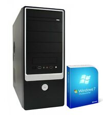 PC Quad Core Computer GAMER A10 5800k 8GB 1000GB Rechner Komplett Windows 7