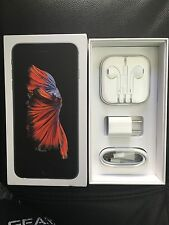 100% Original Apple iPhone 6,6S Earphones W/charger & Sync Cable