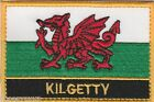 Kilgetty Wales Cymru Town & City Embroidered Sew on Patch Badge