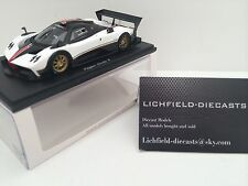SPARK 1:43 PAGANI ZONDA R WHITE WITH STRIPE DESIGN LTD TO 750 PIECES VERY RARE!!