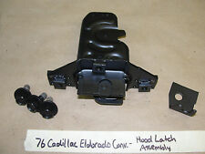 OEM 76 Cadillac Eldorado HOOD LATCH BRACKET BOLTS ASSEMBLY **RESTORED**
