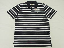 NWT NEW Mens Ecko Unltd Qualified Polo Shirt Navy White Striped Urban Sz S K467