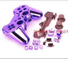 Purple Chrome Plating Housing Shell Case Cover for PS3 Controller Dualshock 3