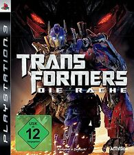 Transformers - Die Rache für Playstation 3 PS3 | NEUWARE | Komplett in Deutsch!