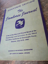 Boy Scout Book - 3rd Canadian Jamboree Newspaper 1961 Connaught Camp Ottawa