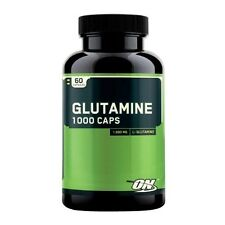 Optimum Nutrition GLUTAMINE 1000 CAPS Amino Acid L-Glutamine 60 Capsules
