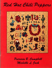 SIGNED EDITION RED HOT CHILI PEPPERS PATRICIA CAMPBELL TEXAS RECIPES & CRAFTS
