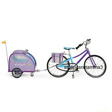 "American Girl MY AG DUO TRAIL BIKE & PET TRAILER for 18"" Doll & Pet Bicycle NEW"