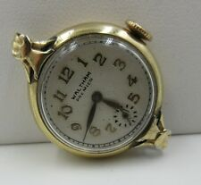 waltham premier #694 WATCH WORKS 17 JEWELS 10K GOLD FILLED