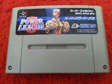 SFC. Super Power League 3. (NTSC JP SNES) SHVC-AP9J