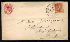 1896 Toronto Canada Loan Agency COmpany Cover to Long Island USA