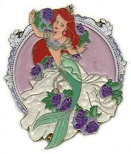 Japan Tokyo Little Mermaid Ariel Wedding Dress 20th Anniversary Disney Sea Pin