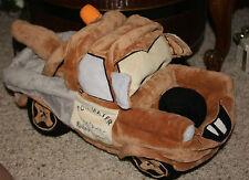 """Disney Pixar Cars Tow Mater Microbead Pillow Tow Truck Plush Toy 16""""     j1"""