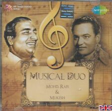 MOHD. RAFI & MUKESH - MUSICAL DUO - NEW BOLLYWOOD SOUND TRACK CD - FREE UK POST