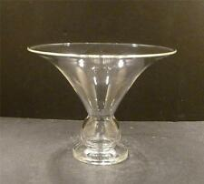 Steuben Crystal Vase Designed By Sydney Waugh - 4 3/4""