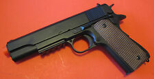 High Performance 1911 Airsoft Spring Pistol W/Open Ejection Port, Moving Hammer