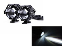 2pcs Motorcycle U5 CREE LED Driving Fog Spotlight Headligh W/ Switch For BMW
