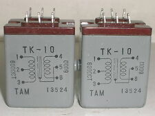NEW 2 pcs Tamura TAMRADIO TK-10 Audio Transformer 600Ω : 600Ω