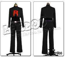 Pocket Monster Pokemon Team Rocket James cosplay costume