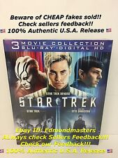 Star Trek Trilogy Collection 3 Movie Collection (Blu-ray, Digital HD)