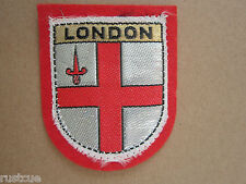 London Woven Cloth Patch Badge (Lot 2)