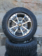 Golf Cart Wheel and DOT tire Combo  10'' wheel  Club Car, EZ-GO and Yamaha