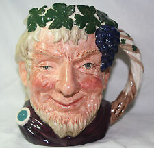 Royal Doulton LARGE Character Toby Jug BACCHUS, D6499, NEW, MINT cond