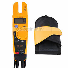 Fluke T5-1000 Clamp Voltage Continuity Current Electrical meter with Holster