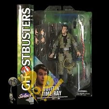 GHOSTBUSTERS Series 3 QUITTIN' TIME RAY Action Figure w/ ROOFTOP Diamond Select!