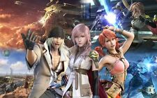POSTER FINAL FANTASY 13 XIII LIGHTING SNOW VERSUS #9