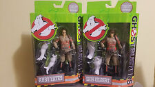 New Ghost Busters Erin Gilbert and Abby Yates Action Figures Mattel  , 6-Inch