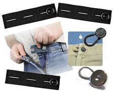 6 PACK PANTS EXTENDERS The Button Same Day Shipping! 3 Elastic + 3 Variety = 6