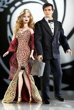 MATTEL James Bond 007 Ken & Barbie Doll Loves Pop Culture  B0150  2002