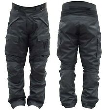 MENS MOTORCYCLE MOTORBIKE TROUSER PANTS TEXTILE CORDURA CE ARMORED SIZE 36