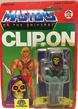 (TAS032322) - 1984 HG Toys Masters Of The Universe He-Man Skeletor Clip-On Figur
