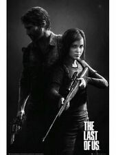 "THE LAST OF US POSTER ""BLACK AND WHITE"" LICENSED ""BRAND NEW"""