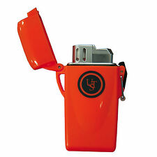 Ultimate Survival Technologies Stormproof Floating Lighter Orange Windproof