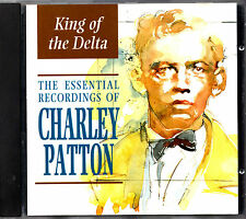 CHARLEY PATTON king of delta blues CD 1929-1940 recordings Long OOP