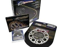 Kit Chaine Pour Yamaha Wr125z '99-01 Transmission 13/48,Chaine Renthal 520R3-2
