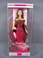 NIB BARBIE DOLL 2002 BIRTHSTONE COLLECTION JANUARY GARNET AFRICAN AMERICAN BLACK