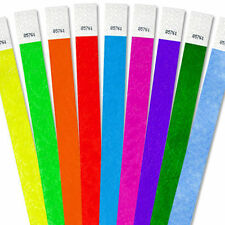 """25000 3/4""""Tyvek Wristbands-Choose Your Color-Bars,Events,Clubs,Security,ArmBands"""