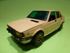 BBURAGO 0164 ALFA ROMEO GIULIETTA 1.6 - IVORY 1:24 - FAIR CONDITION